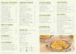 Ofertas de Nostrum, Els nostres plats