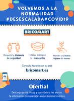 Ofertas de Bricomart, Medidas para tu seguridad #Desescalada