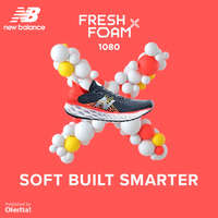Fresh Foam. Soft Built Smarter