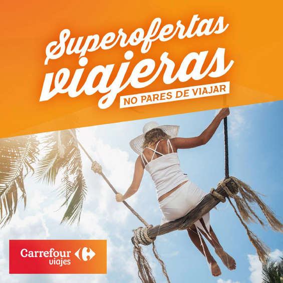Ofertas de Carrefour Viajes, Viajes