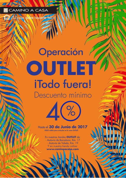Ofertas de Camino A Casa, Operación Outlet