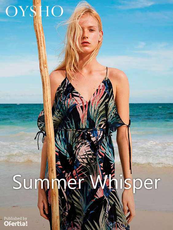 Ofertas de Oysho, Summer Whisper