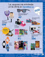 Ofertas de Carrefour, ¡Por fin vacaciones!