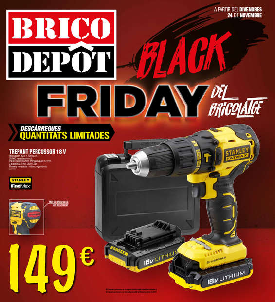 Ofertas de Bricodepot, Black Friday del Bricolaje