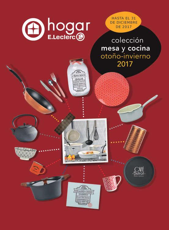 Ofertas de E. Leclerc, Colección mesa y cocina