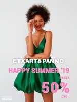 Ofertas de Etxart&Panno, Happy Summer '19. Hasta 50% dto.