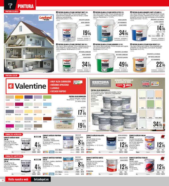Bricodepot pintura ofertas y cat logos destacados ofertia - Pinturas titan precios ...
