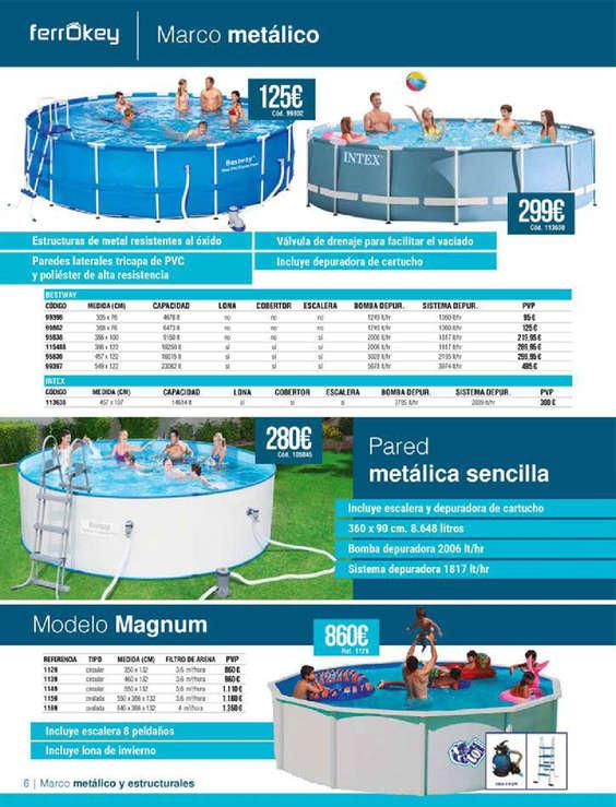 Ofertas de Ferrokey, Piscinas 2019