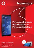 Ofertas de Vodafone, Novembre - Pensa en el teu nou Huawei Mate 10, pensa en Vodafone