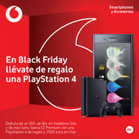 En Black Friday llévate de regalo una Playstation 4