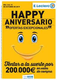 Happy Aniversario