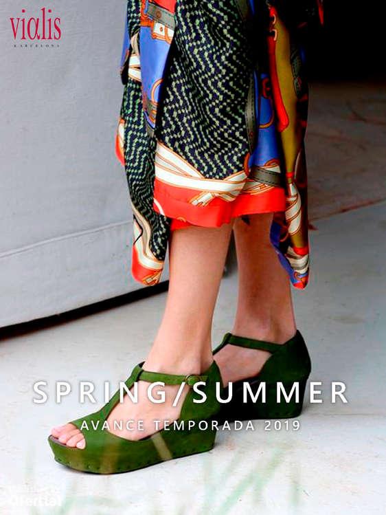 Ofertas de Vialis, Spring Summer. Avance temporada 2019