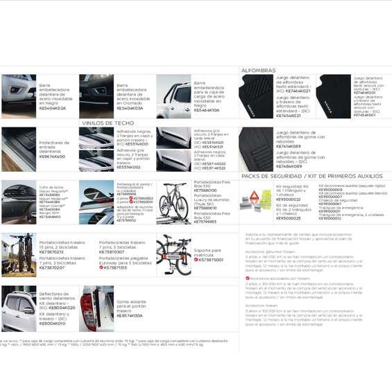 Ofertas de Nissan, Accesorios Nissan Navara