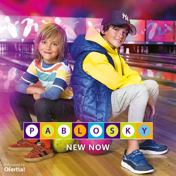 Ofertas de Pablosky, New Now