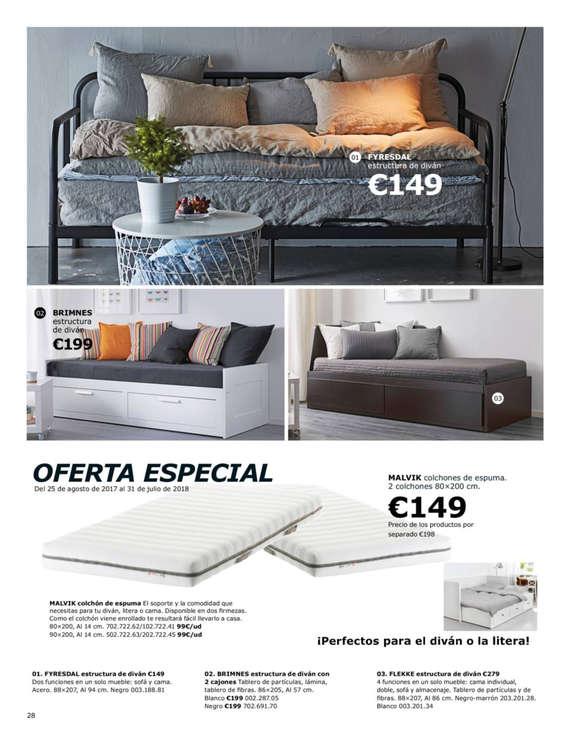 Ikea colch n ofertas y cat logos destacados ofertia - Ikea sevilla ofertas ...