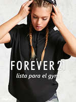 Ofertas de Forever 21, Lista para el gym