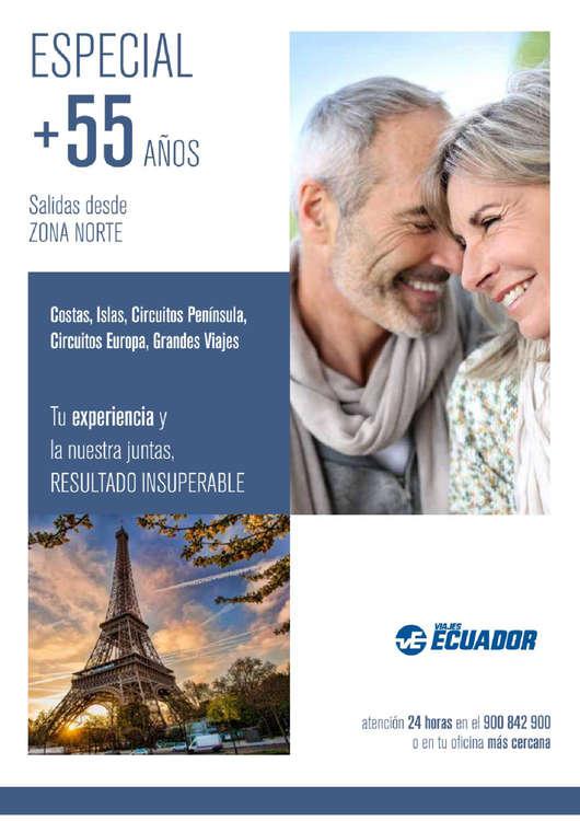 Ofertas de Viajes Ecuador, Especial + 55 años