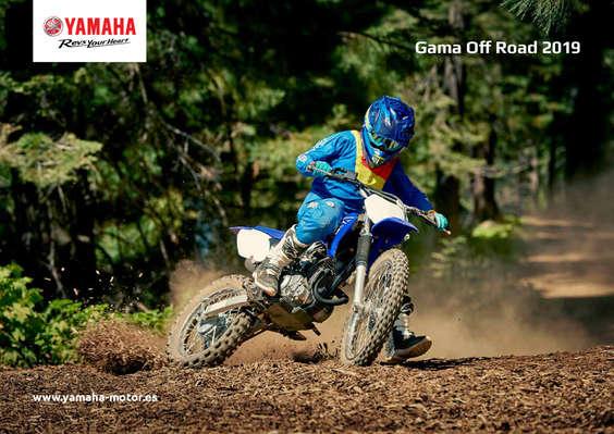 Ofertas de Yamaha, Gama Off Road 2019