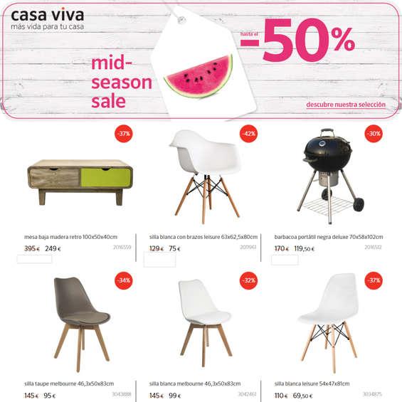 Ofertas de Casa Viva, Mid season