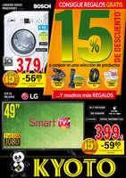 Ofertas de Kyoto Electrodomésticos, 15% descuento
