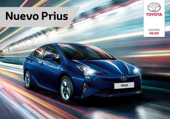 Ofertas de Toyota, Nuevo Prius