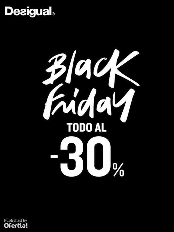 Ofertas de Desigual, Black Friday. Todo al -30%