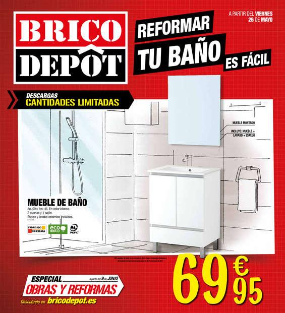 Ofertas de Bricodepot, Reformar tu baño es fácil