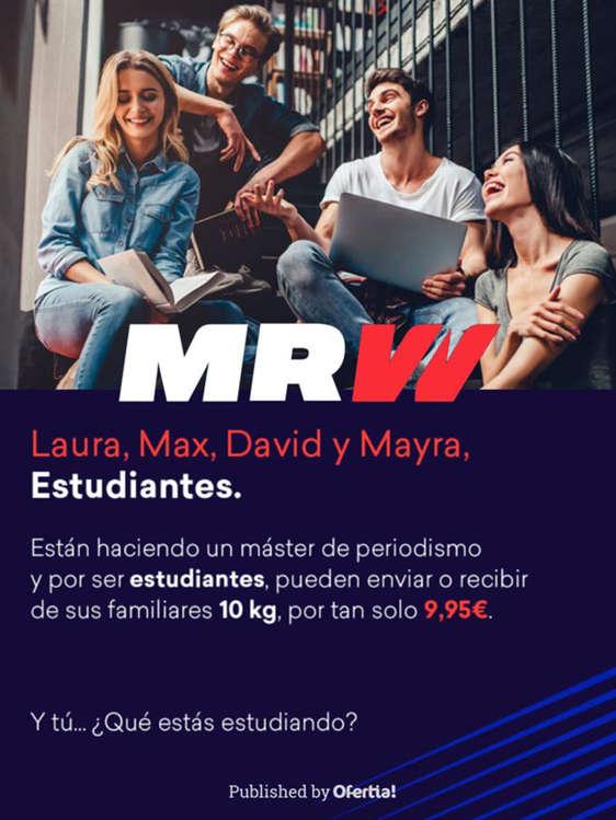 Ofertas de MRW, Promoción estudiantes