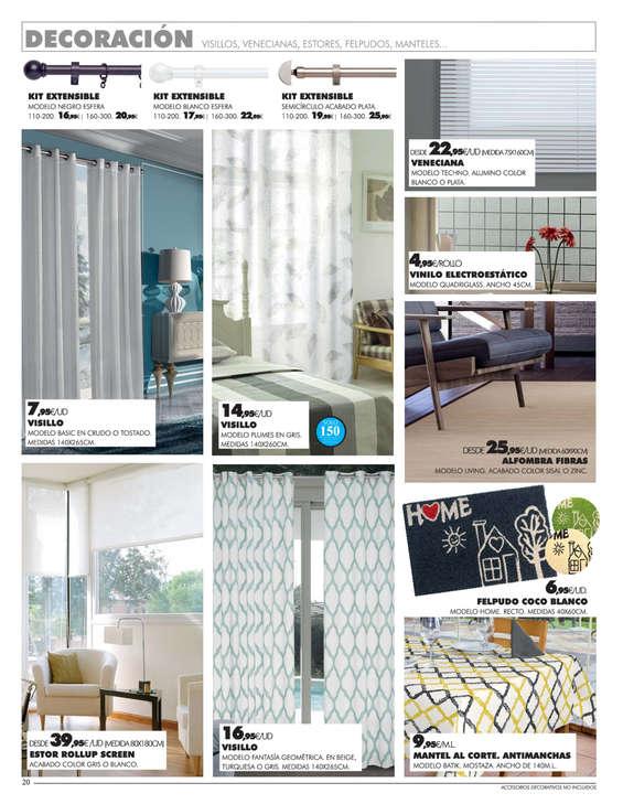 Comprar cortinas y complementos barato en segovia ofertia for Complementos hogar baratos