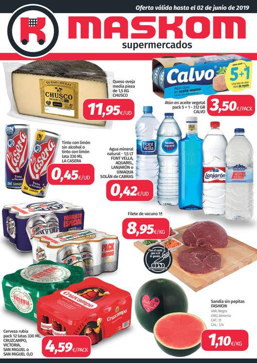 Ofertas de Maskom Supermercados, Maskom