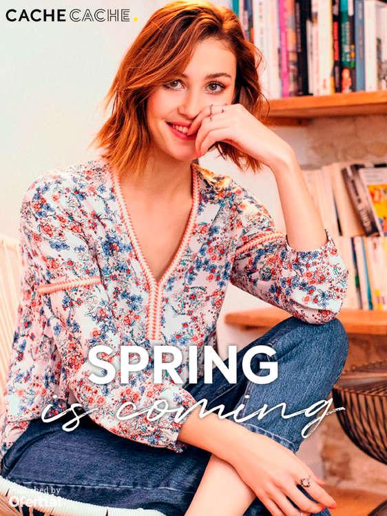 Ofertas de Cache Cache, Spring is coming