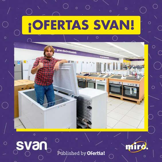 Ofertas de Miró, ¡Ofertas Svan!