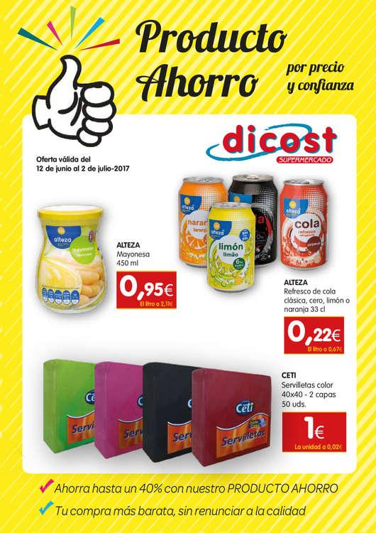 Ofertas de Dicost, Producto ahorro