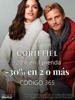 Ofertas de Cortefiel, -20% en 1 prenda y -30% en 2 o más