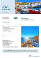 Ofertas de Barceló Viajes, Cruceros Islas Griegas 2019