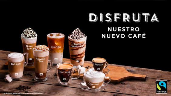 Ofertas de Dunkin Coffee, Disfruta nuestro nuevo café