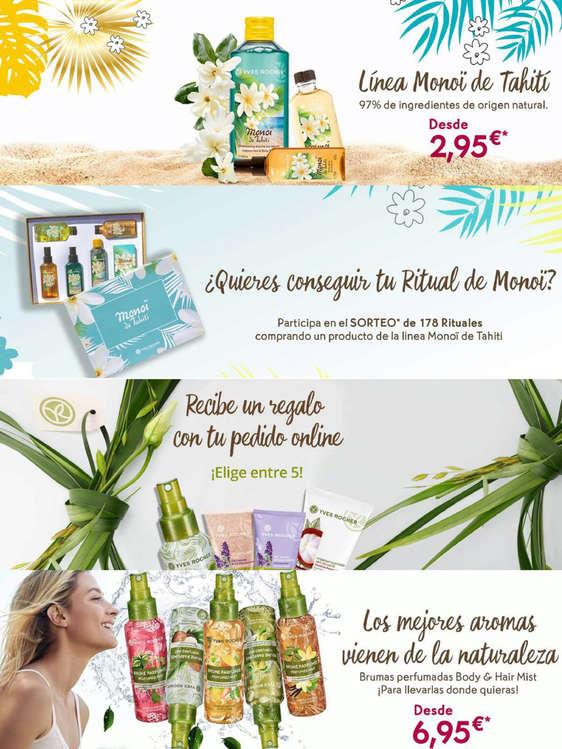 Ofertas de Yves Rocher, ¡Promociones!