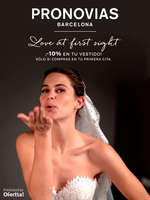 Ofertas de Pronovias, Love at first sight ¡-10% en tu vestido!