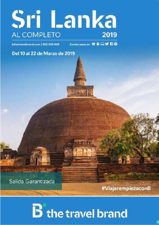 Ofertas de Barceló Viajes, Sri Lanka 2019