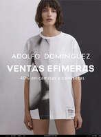 Ofertas de Adolfo Domínguez, Ventas Efímeras. -40% en camisas y camisetas
