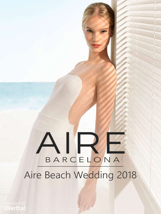 Ofertas de Aire Barcelona, Aire Beach Wedding 2018