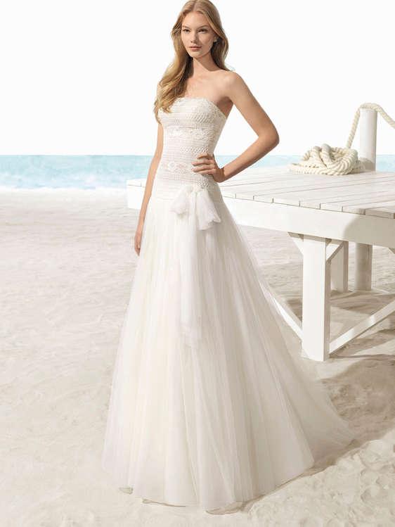 Comprar Vestidos de novia palabra de honor barato en Málaga - Ofertia