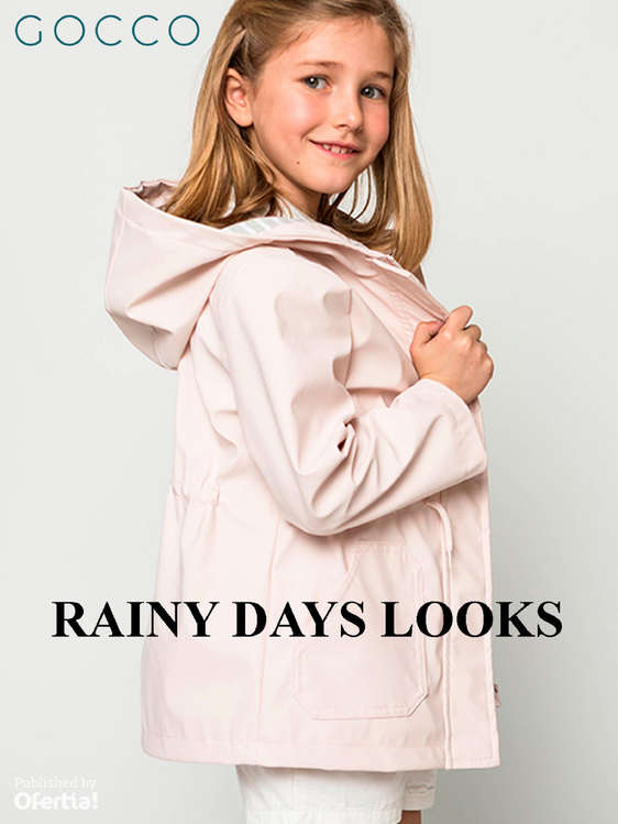 Ofertas de GOCCO, Rainy Days Looks