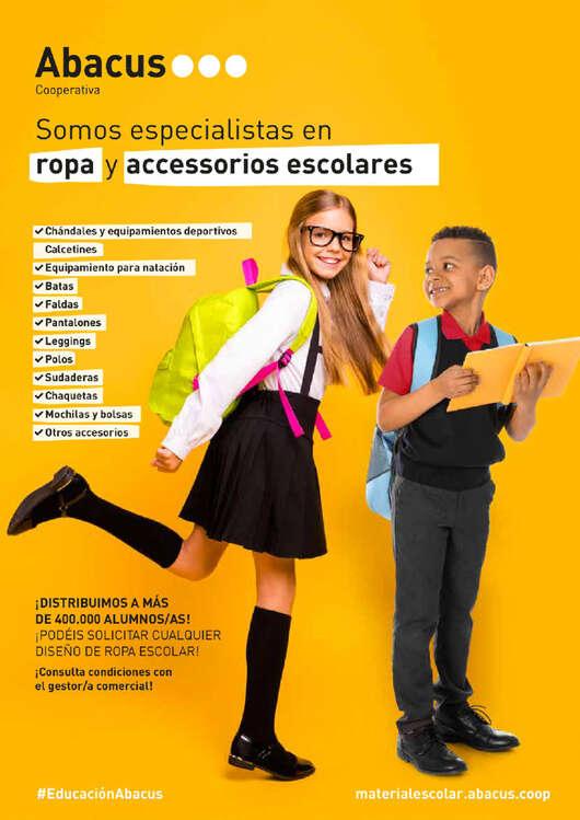 Ofertas de Abacus, Somos especialistas en ropa y accesorios escolares