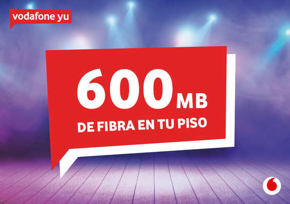 Ofertas de Vodafone, 600 mb