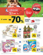 Ofertas de Eroski, - 2ª unitat -70% -