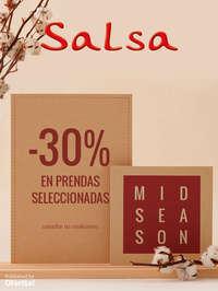 Mid Season Sale -30% en prendas seleccionadas