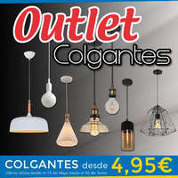 Outlet Colgantes