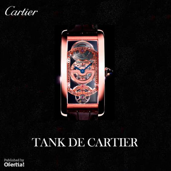 Ofertas de Cartier, Tank de Cartier