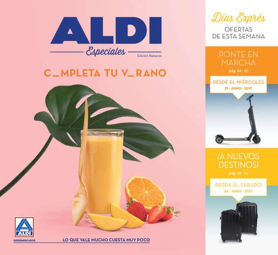 Ofertas de ALDI, C_mpleta tu V_rano